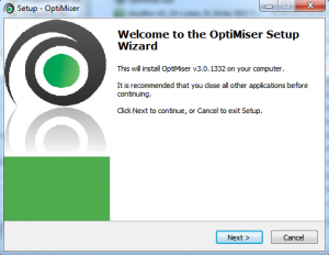 OptiMiser installer file