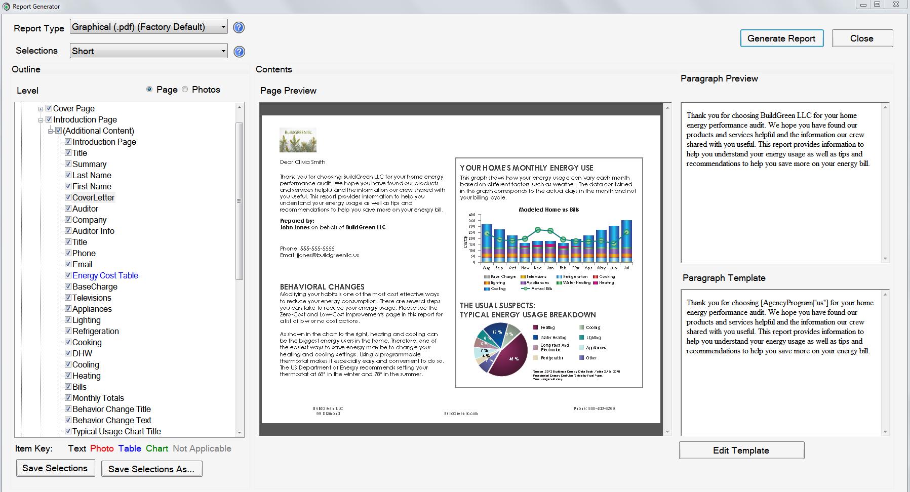 Custom Reports - OptiMiser